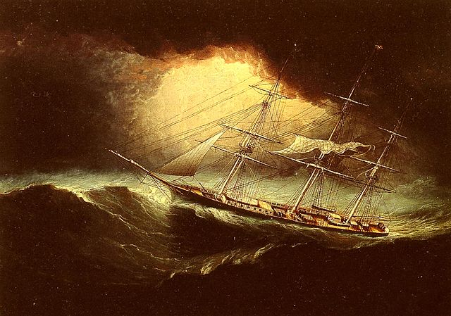 "James E. Butterworth's ""Ship in a Storm"" or, A Captain Improving His/Her Skillz"